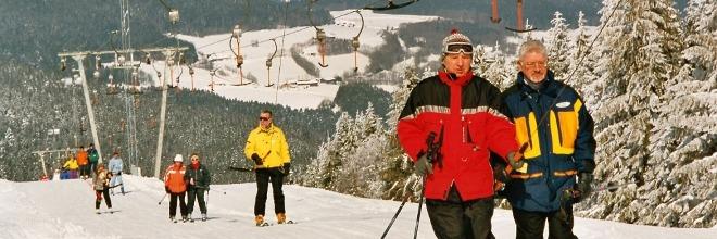 Skifahren in St. Englmar